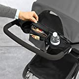 Image of the Chicco Bravo LE Stroller, Black/Grey