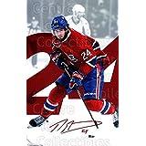 Phillip Danault Hockey Card 2016-17 Montreal Canadiens Postcards #4 Phillip Danault