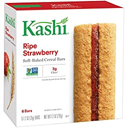 Kashi, TLC Ripe Strawberry Cereal Bars, 6 ct, 7.2 oz