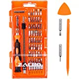 Zacro 62 in 1 Precision Screwdriver Set with 56 Bits Magnetic Driver Kits, Electronics Repair Tool Kit for iPhone 7, iPhone 7 Plus, PC, Laptop, Macbook, Ipad, Tablet, Mobile Phone, PDA, Glasses, Watch, Cameras, Electronic Toys and Other Appliances