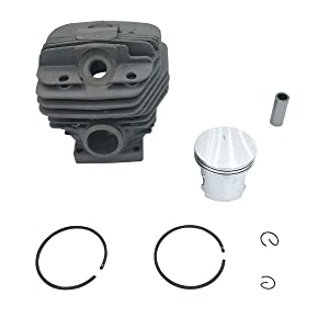 54mm Cylinder Piston Pin Replacement Kit Ring Clips for STIHL 066 MS660 Chainsaw 1122 020 1211
