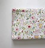 Changing Pad Cover - Pink Primrose