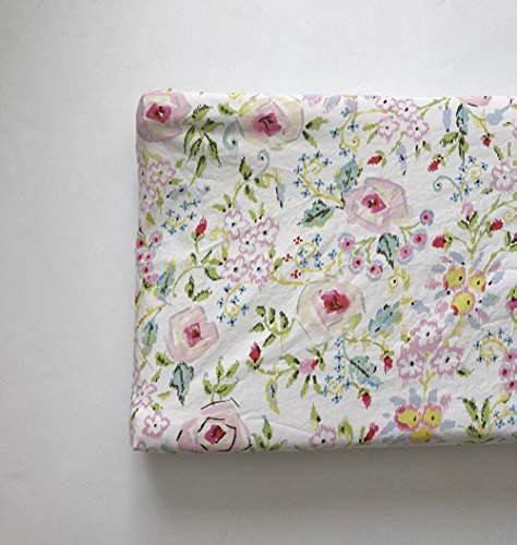 Changing Pad Cover - Pink Primrose by Lullabies and Lollipops