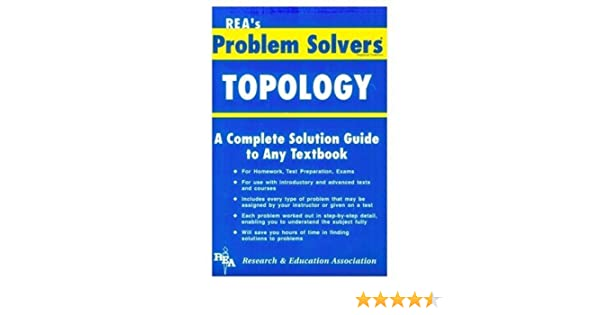 com topology problem solver problem solvers solution com topology problem solver problem solvers solution guides 9780878919253 the editors of rea books
