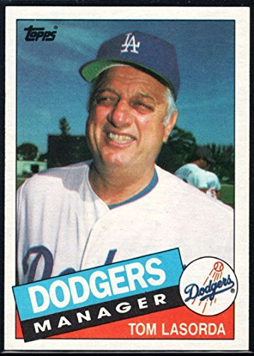 Baseball MLB 1985 Topps #601 Tommy Lasorda MG Dodgers