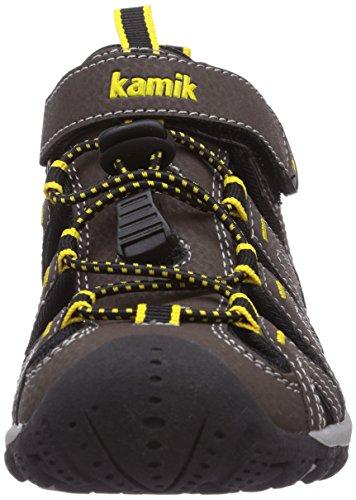 Kamik Moorings - Sandalias Cerradas de Material Sintético Niños^Niñas marrón - Braun (DK.BRN/DBR)