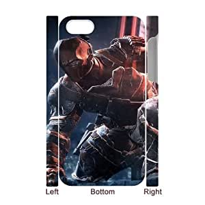 deathstroke batman arkham origins game iPhone 4 4s Cell Phone Case 3D Tribute gift pxr006-3909421