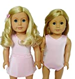 PINK RHINESTONES SWIMSUIT FOR AMERICAN GIRL DOLLS- 18 INCH DOLL CLOTHES