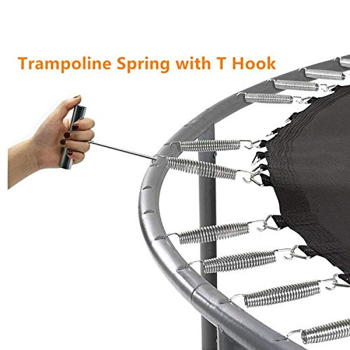 Set of 16 5.5 Inch Trampoline Springs Heavy Duty Stainless Steel Replacement/Springs