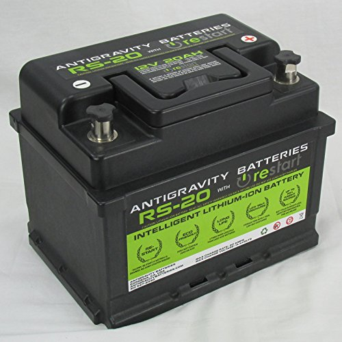 Lithium Car Battery >> Amazon Com Antigravity Batteries Rs 20 Lightweight Lithium Ion