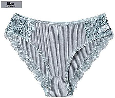 Mujer Braguitas Ropa interior femenina algodón de las mujeres bragas femeninas del cordón de las bragas de la ropa interior cómodo florales Calzoncillos Calzoncillos mujer Pantys de chicas Braguitas y: Amazon.es: Hogar