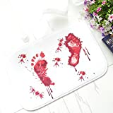 Copter shop Blood novelty Bathroom Bath Mat Carpet Rug Water...