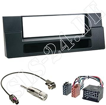 1 Din Blende Einbaurahmen Radioblende Mit Fach Iso Elektronik
