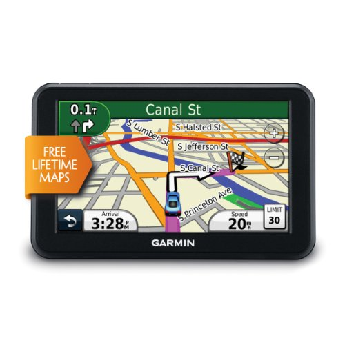 amazon com garmin nuevi 50lm 5 inch portable gps navigator with lifetime maps us and canada home audio theater