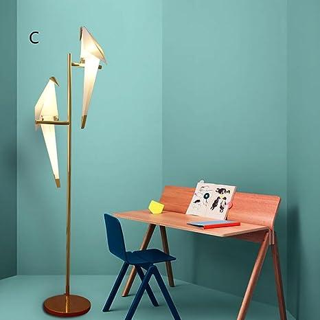 JUJUN Mesa lámpara creativa minimalista para dormitorio ...