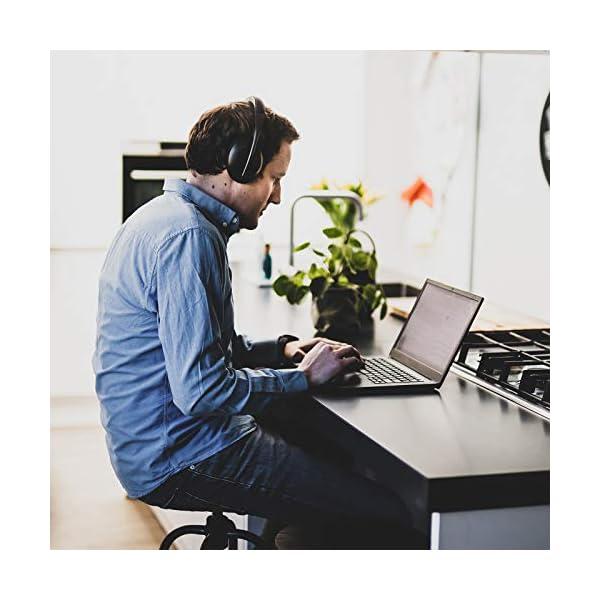 Bose Noise Cancelling Headphones700 – Casque Bluetooth sans fil Supra-Aural avec Microphone Intégré pour des Appels Clairs et le Contrôle vocal via Alexa, Noir