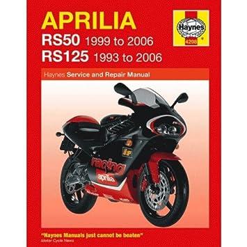 aprilia sx 125 haynes manual