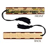 John Muir Quote Wooden Bookmark with Black Tassel - Search B07991MMMJ to see personalized version.