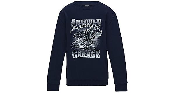American Eagle Garage Sweater - Navy - Medium: Amazon.es: Ropa y ...