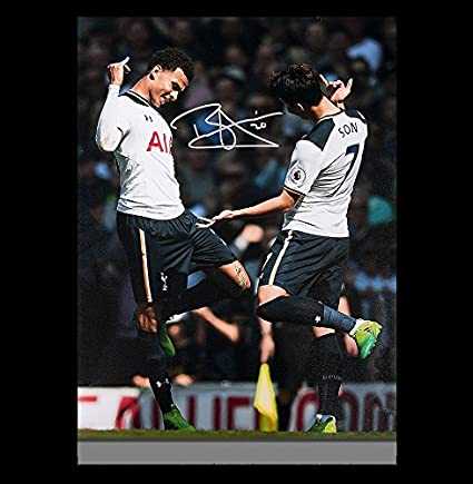quality design 64020 4fb4c Dele Alli Autographed Signed Tottenham Hotspur 12x18 Photo ...
