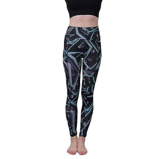 Mujer Yoga Pantalones, Leggings Deportivos elásticos y ...
