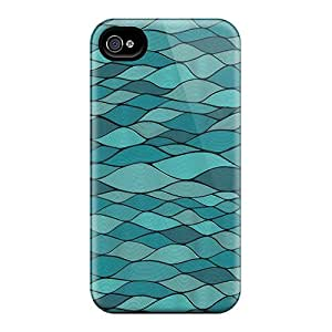 DiamondCase Iphone 4/4s Well-designed Hard Case Cover Art Waves Protector