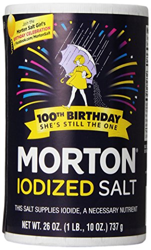 Morton Iodized Salt 26 oz product image