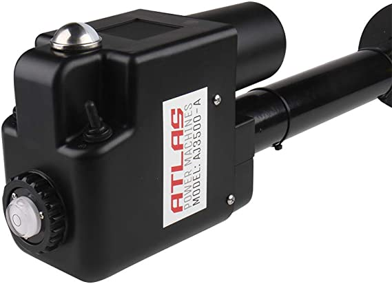 ATLAS POWER MACHINES Jack /électrique /à Languette RV de 3500 LB avec bo/îtier en Plastique Noir