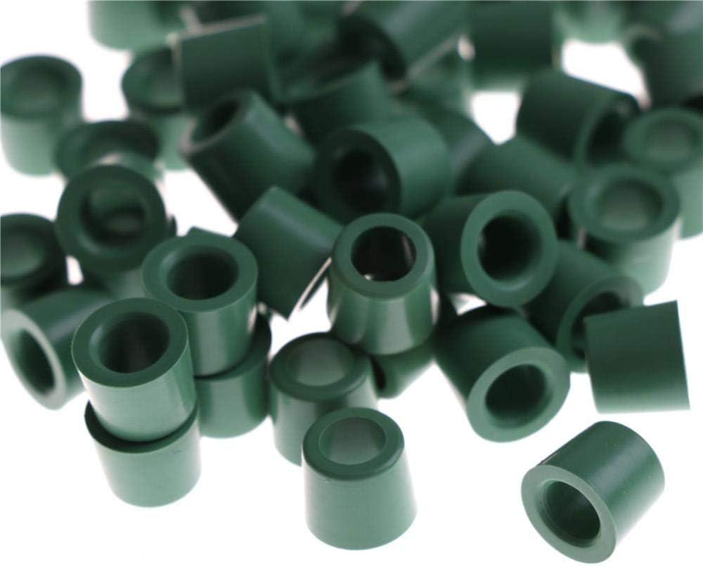 Xinger 50Pcs Green Air Conditioning Charging Hose 1//4 Valve Gasket Manifold Repair Seal Kit