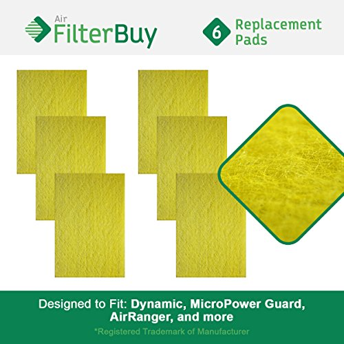 FilterBuy Replacement Media Pad Filter (14x25). Compatibl...