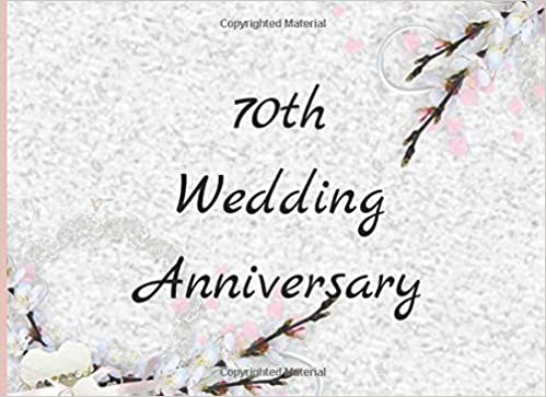 70th Wedding Anniversary.70th Wedding Anniversary Personalized And Beautiful 70th