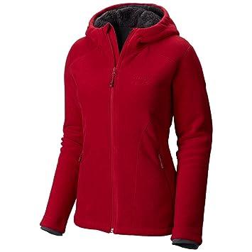 Amazon.com : Mountain Hardwear Dual Fleece Hooded Jacket - Women's ...