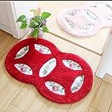 Alfombrillas alfombrillas para niños Colchones alfombras mat pastoral dormitorio Salón baño baño anti - las pastillas, 5