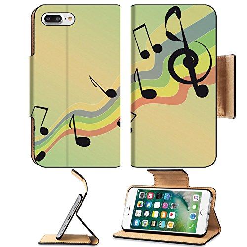 Liili Premium Apple iPhone 7 Plus Flip Pu Leather Wallet Case IMAGE ID: 4001034 Raduzhnom notes at the camp