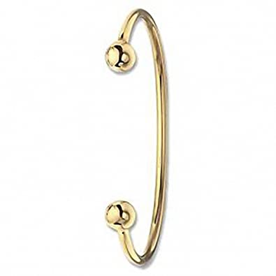 8bf208aa1bd6c Yellow Gold Torque Bangle Ladies Cuff Bracelet 12 grams Hallmarked ...