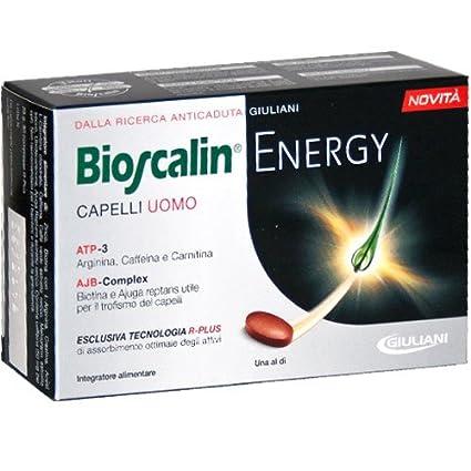 Bioscalin uomo energy capelli 30cpr  Amazon.it  Bellezza 9c0a9dd362a1