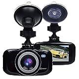 Corprit Advanced F2.0 Big Eye Dashboard Camera Black - Full HD 1080P H.264, 2.7