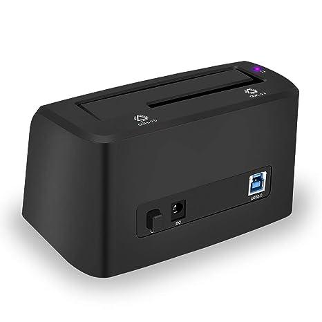 ELUTENG - Base de Carga para Disco Duro Externo (USB 3.0 a SATA ...