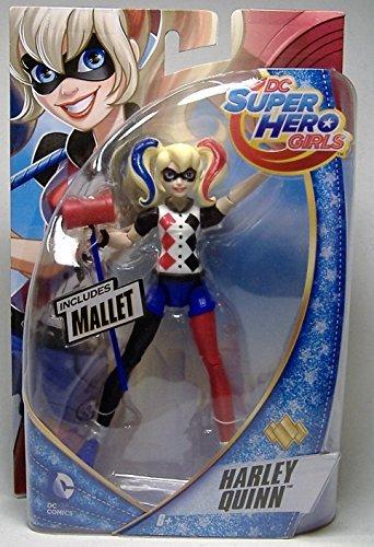 "HARLEY QUINN DC SUPER HERO GIRLS ACTION FIGURE 6"" MOSC SUICIDE SQUAD JOKER 2015"