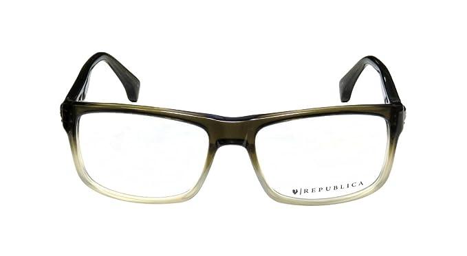 432d0f93bad REPUBLICA Eyeglasses MONTREAL Olive 56MM  Amazon.ca  Clothing ...