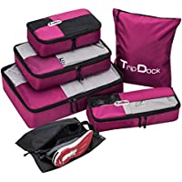 6-Set TripDock Various Packing Cubes Lightweight Travel Luggage