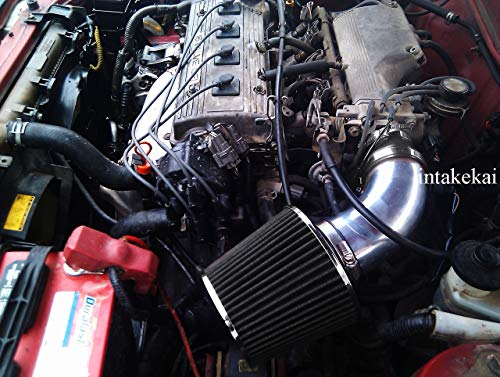 PERFORMANCE SHORT RAM AIR INTAKE KIT FOR 1990-1999 TOYOTA CELICA 1.6L 1.8L 2.2L l4 ENGINE ()
