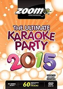 Zoom Karaoke DVD - The Ultimate Karaoke Party 2015 - 60