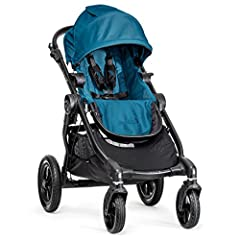 Our most versatile yet, the City Select stroller grows with your family and could be the only folding stroller you'll ever need. This designer convertible stroller boasts 16+ available configurations to fit your family's needs. It easily beco...