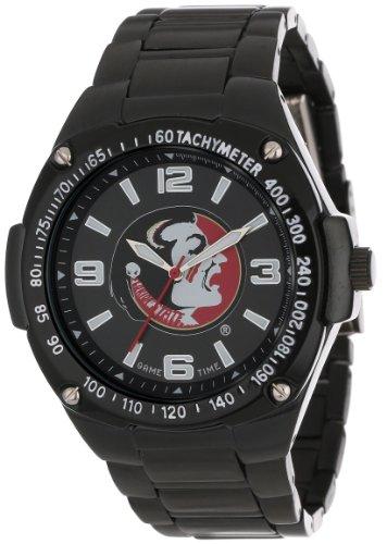 - Game Time ' Warrior' Quartz Metal and Alloy Casual Watch, Color:Black (Model: COL-WAR-FSU)