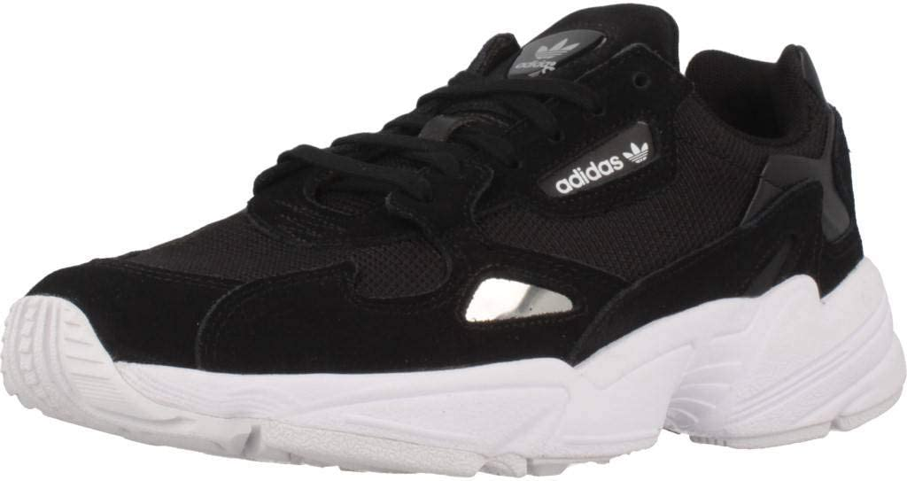 Adidas Falcon W Fitnessschoenen, dames Mehrfarbig Black Cblack Cblack Ftwwht