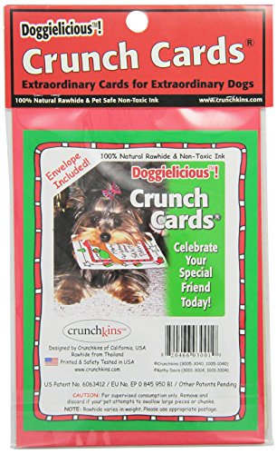 Crunchkins Crunch Edible Card, From Santa With Love