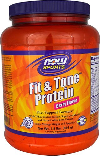 NOW Foods Fit & ToneT Protein Berry -- 23 Servings - 2PC by Now Sports