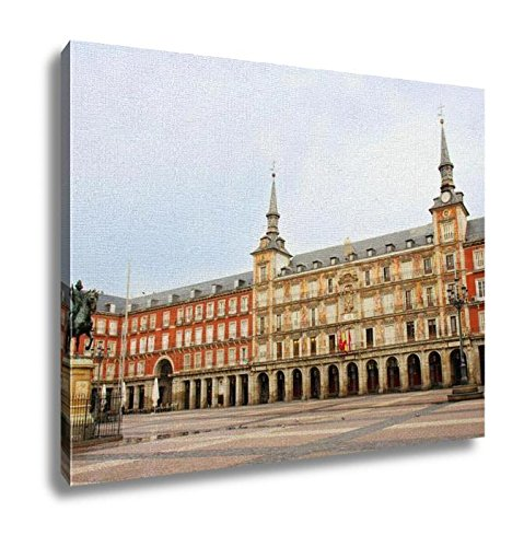 Ashley Canvas, Main Square Of Mdrid Plazmayor Spain, Home Decoration Office, Ready to Hang, 20x25, AG5528395 by Ashley Canvas