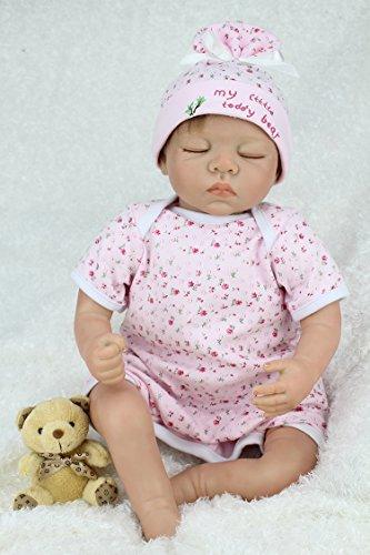 NPK collection Reborn Baby Doll Vinyl Silicone 22inch 55cm ...